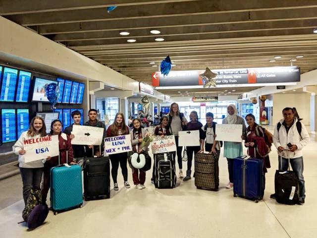 Alumnos tlaxcaltecas participan en intercambio académico con Estados Unidos