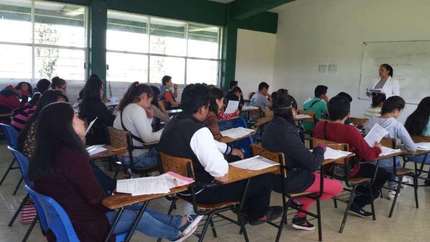 Realiza SEPE evaluación para ingreso a educación media superior