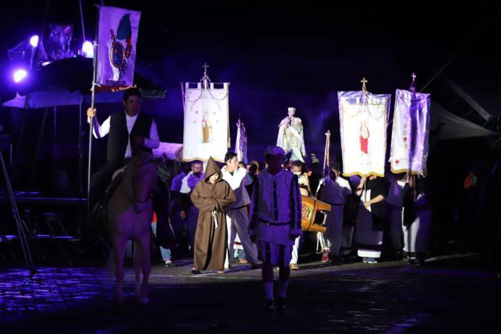 Celebran tlaxcaltecas 427 aniversario de la Gran Jornada del Siglo XVI