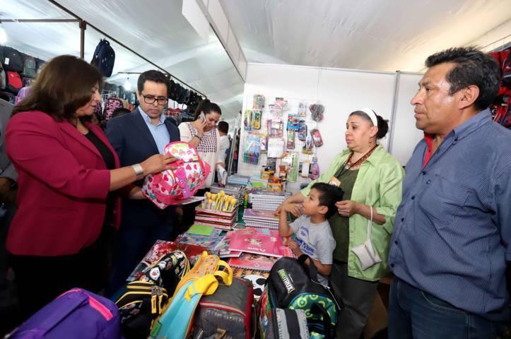 Inaugura secretario de educación Feria De Regreso A Clases 2018