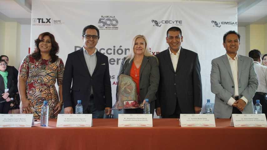 Inaugura SEPE Feria Expande Conocimiento 2019 de Cecyte-Emsad