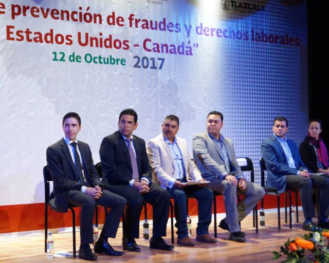 Realiza Sepuede conferencia Prevención de Fraudes y Derechos Laborales Estados Unidos-Canadá