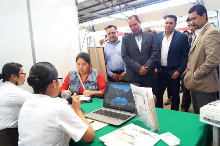 Organiza SEPUEDE Feria del Empleo 2018 en Tetla de la Solidaridad