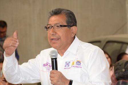 La buena política es acciones y de resultados: Serafín Ortiz
