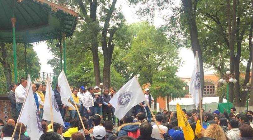 Serafín Ortiz muestra poder de convocatoria y movilización