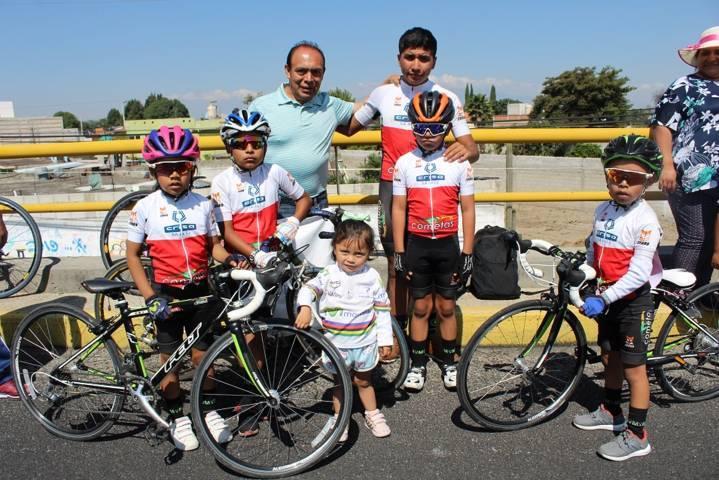 Espectacular participación en Segundo Serial Regional de Ciclismo en Zacatelco