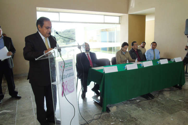 Recibe Hospital Infantil de Tlaxcala inmobiliario hidrosanitario