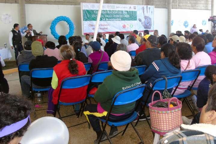 Conmemoran en Tlaxcala el día mundial de la diabetes