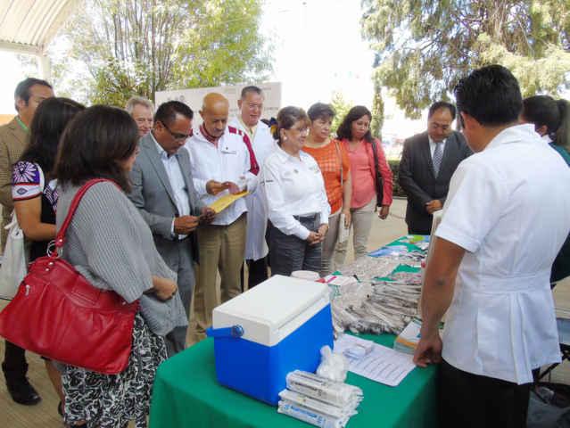 Inauguran la semana nacional de salud de la adolescencia en Tlaxcala