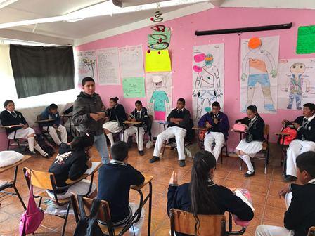 Promueven entre jóvenes estudiantes acciones saludables