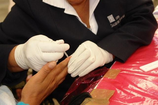 Campaña para detectar de VIH es permanente en la Sesa