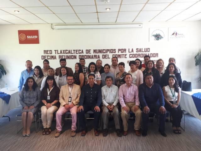Participa SESA en Décima Reunión de la Red Tlaxcalteca de Municipios por la Salud