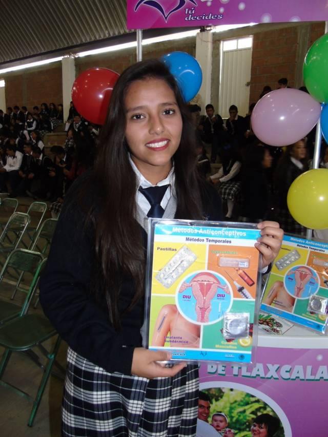 Brinda SESA orientación de salud sexual a adolescentes
