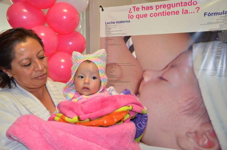 Fomenta SESA lactancia materna entre mujeres tlaxcaltecas