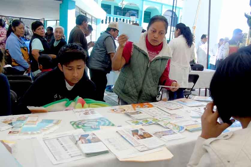 Sesa al pendiente de la salud de la población tlaxcalteca