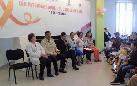 Conmemoran en Tlaxcala Día Internacional del Cáncer Infantil