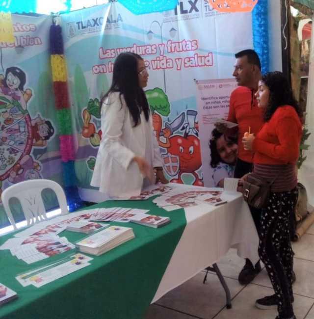 Difunde SESA programas de salud en Tlaxcala Feria 2019