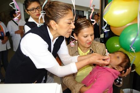 Con semana nacional de salud se busca proteger a infantes
