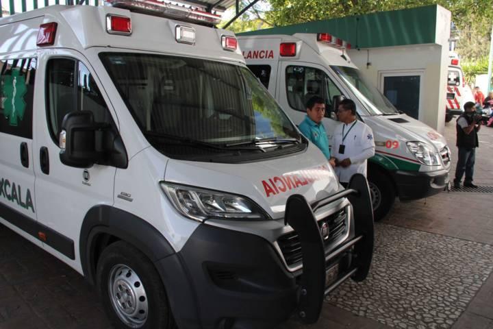 Atiende SESA a lesionados de la Huamantlada