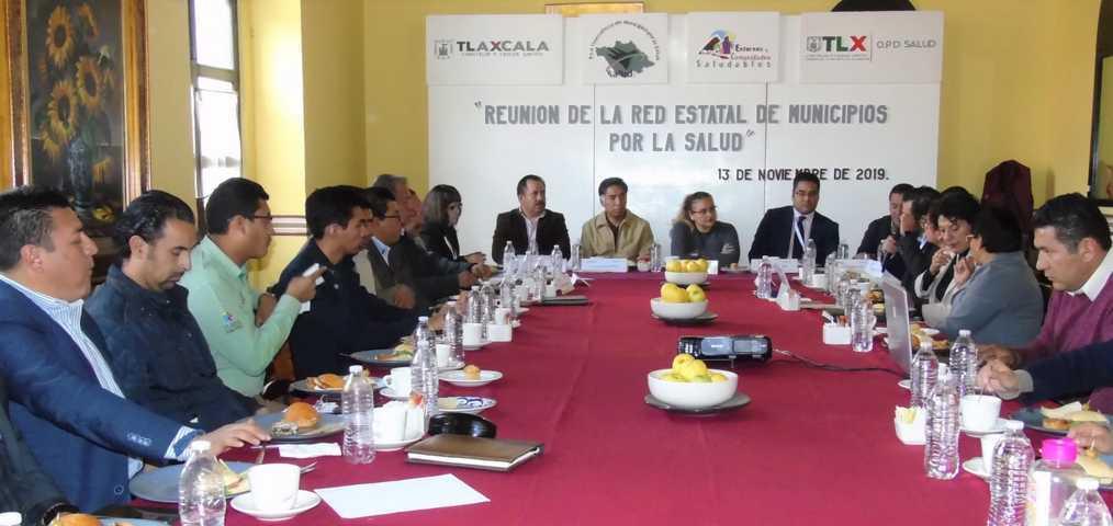 Encabeza SESA reunión estatal de municipios por la salud