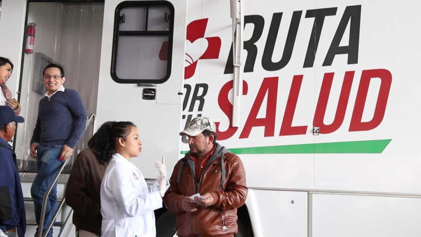 Visitará Ruta Por Tu Salud nueve municipios en Noviembre y Diciembre