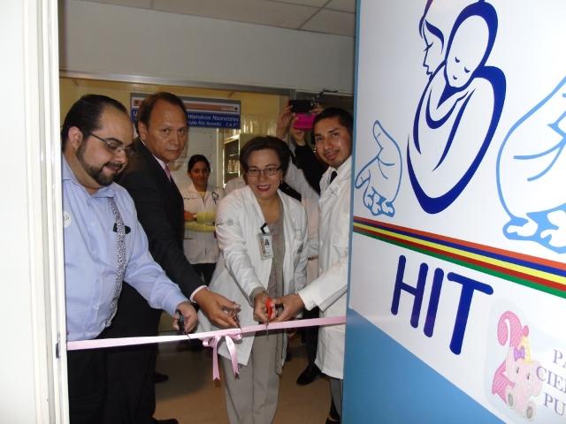 Inauguran lactario en el Hospital Infantil de Tlaxcala