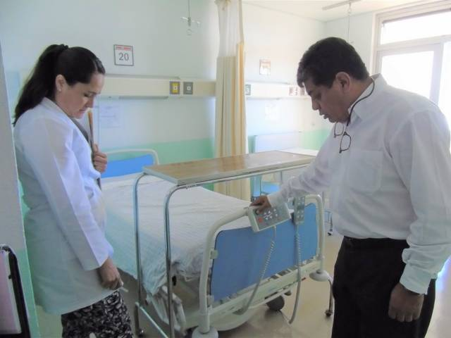 Realiza SESA recorrido por el Hospital de Calpulalpan