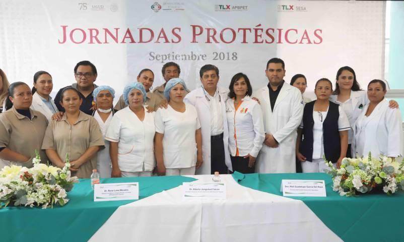 Inaugura SESA Jornadas Protésicas 2018
