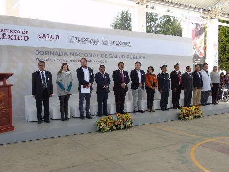 En Tlaxcala se puso en marcha jornada de salud pública