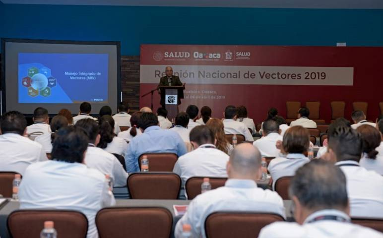 Participa SESA en reunión nacional del programa de enfermedades transmitidas por vectores  2019