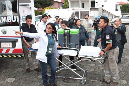Supervisó Sesa traslado de órganos para pacientes de Puebla y la Ciudad de México