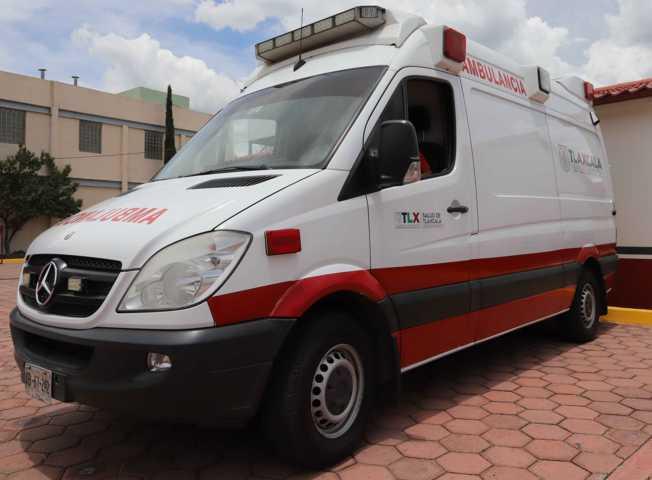 Coordina CRUMT atención de lesionados por caída de lona en Zacatelco