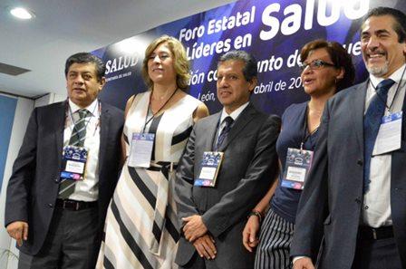 Participa Sesa en foro estatal Líderes en Salud en Guanajuato