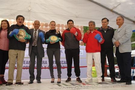 Con boxeo pretenden combatir la obesidad en Tlaxcala