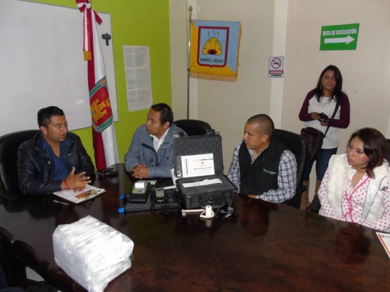 Dotan de alcoholímetros a ayuntamiento de Domingo Arenas