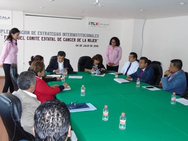 Instala SESA Comité Estatal de Cáncer de la Mujer