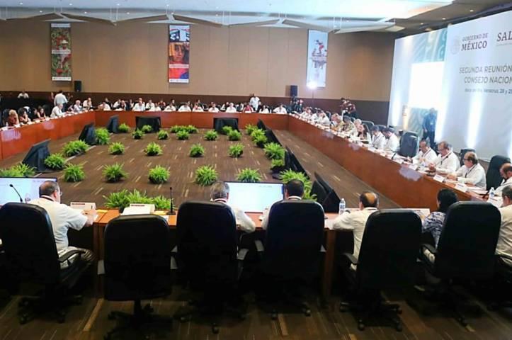 Participa SESA en reunión del Consejo Nacional de Salud