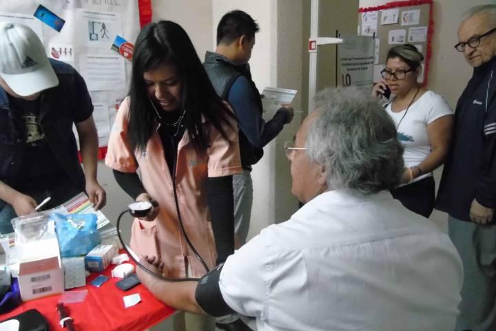 Conmemoró SESA Día Mundial de la Hipertensión Arterial con acciones de detección