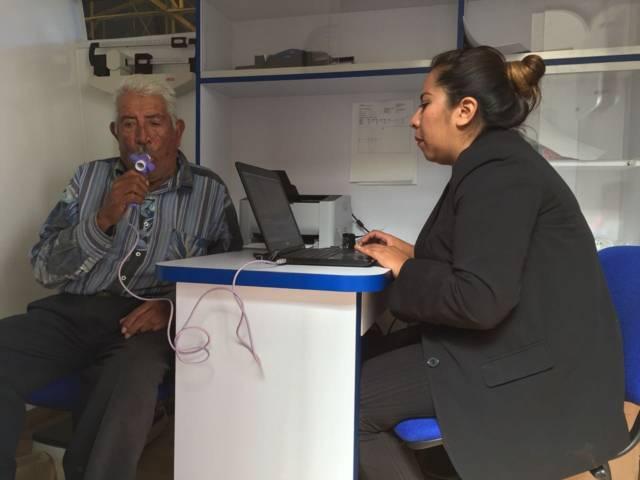Realiza SESA campaña para detectar enfermedad pulmonar obstructiva