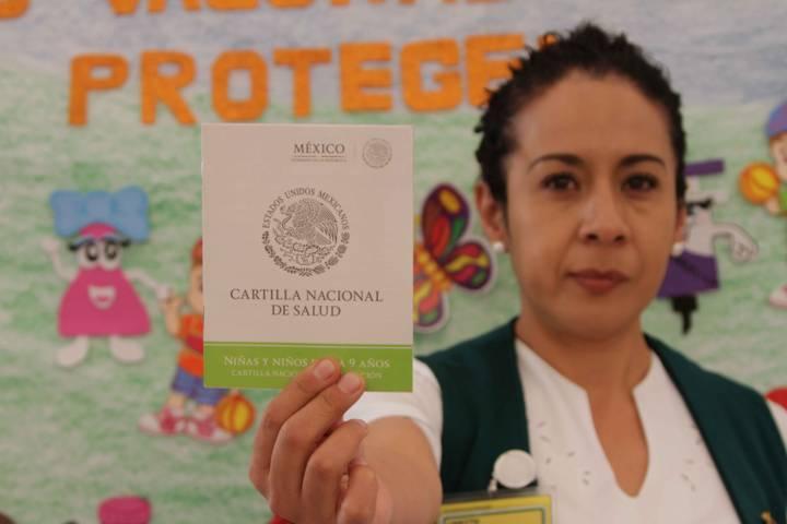 Tlaxcala, tercer lugar nacional en programa de vacunación universal