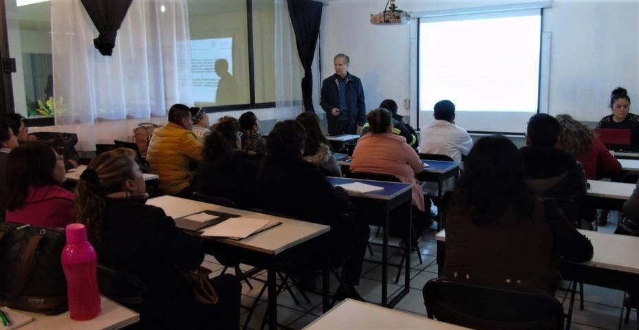 Capacita Sesa a instructores como primeros respondientes