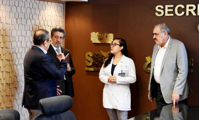 Participa personal de la Sesa como evaluador externo en Chihuahua