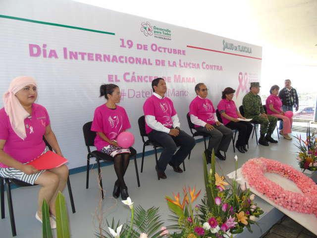 Conmemoran internacional de la lucha contra el cáncer de mama