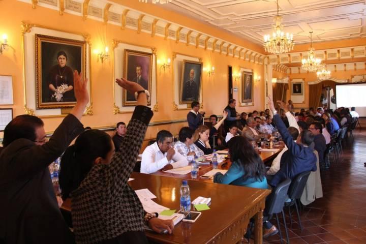 En Sesión de Cabildo aprueban la primera priorización de obras del FISM 2018