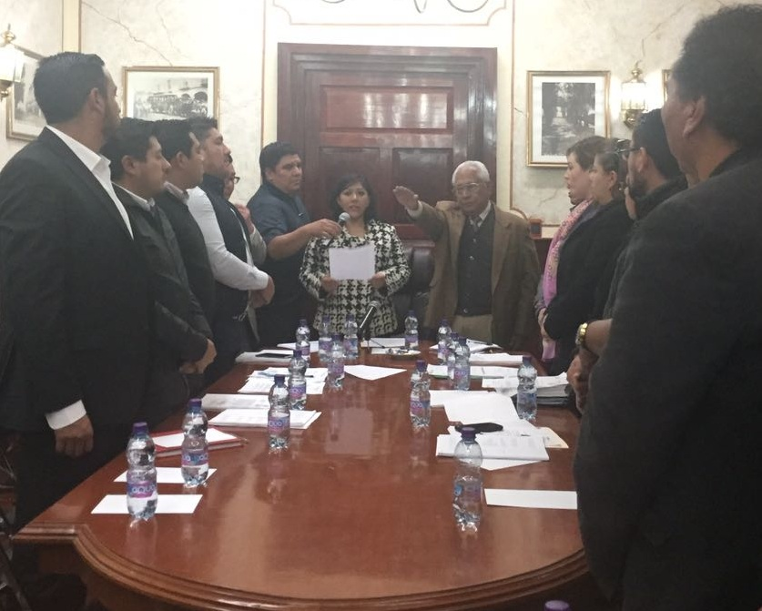 Nombra Cabildo de Tlaxcala a Cronista y Juez Municipal