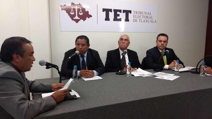 Por desistimiento, sobresee TET impugnaciones de presidenta del ITE contra el Ejecutivo