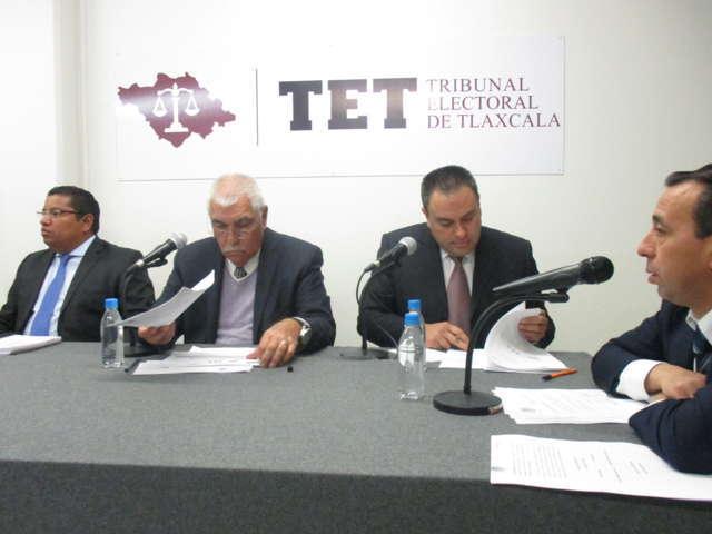 Firme la elección en Contla; no es posible reabrirla: TET