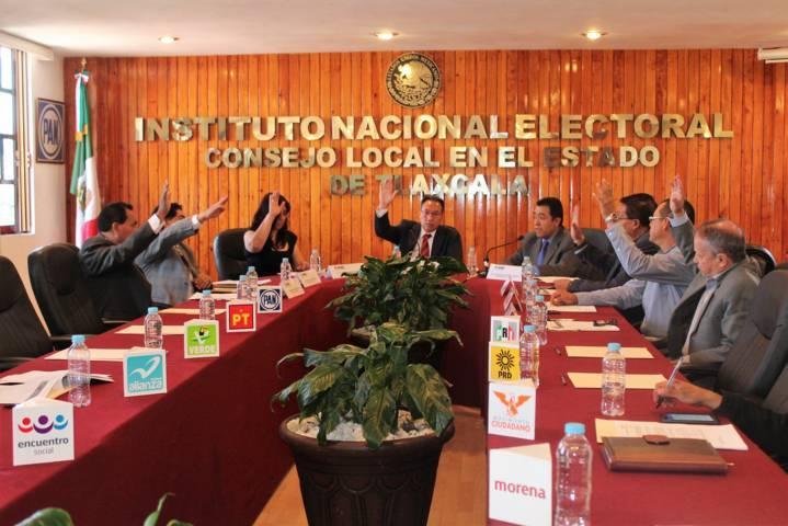 Informa INE Tlaxcala de avances en organización del PEF 2017-2018