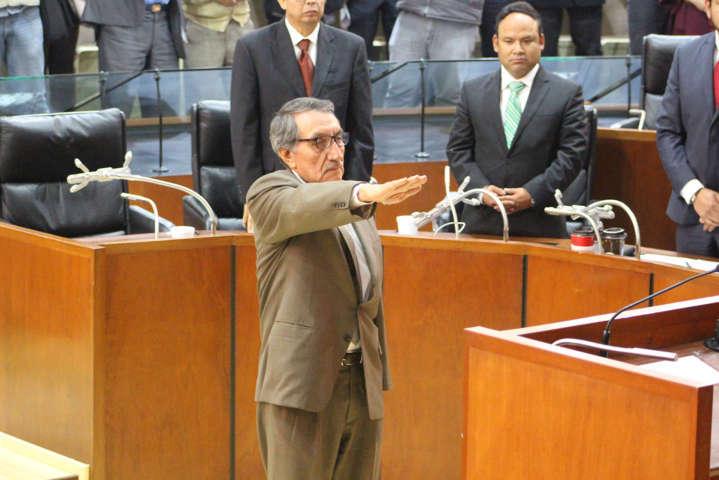 Designan diputados a Tito Cervantes Zepeda como Procurador General de Justicia del Estado