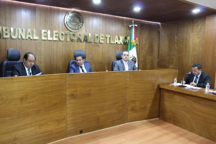 Acumula TET expedientes sobre renovación de la dirigencia estatal del PEST